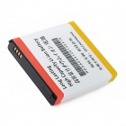 Replacement 3.7V 6200mAh Battery Pack w/ Back Cover for Samsung Galaxy S4 i9500 - Black