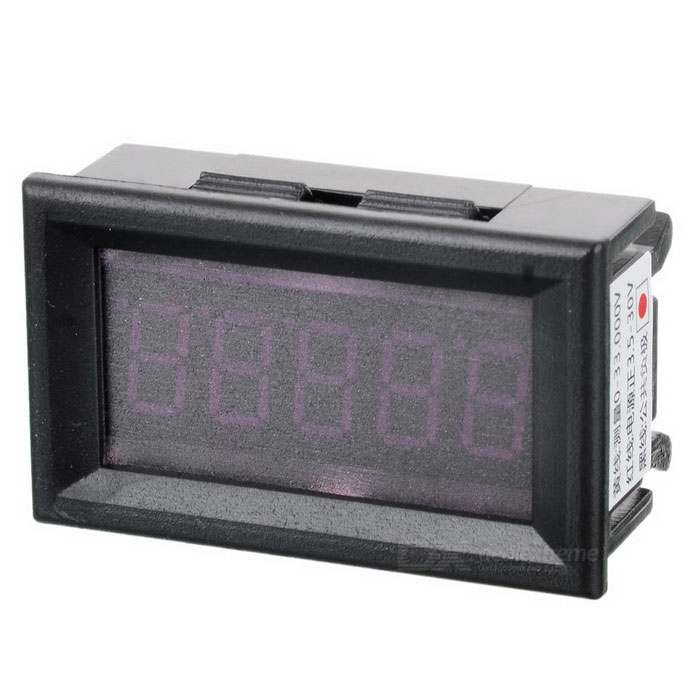 5-Digit LED Display Digital Voltmeter Module - Black + Green (DC 0-33.000V) 4 digit red led digital amperemeter black dc 5v