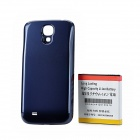 Replacement 3.7V 6200mAh Battery Pack w/ Back Cover for Samsung Galaxy S4 i9500 - Blue