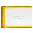 3570100 3.7V 3000mAh Lithium Polymer Battery for Tablets / MP3 / MP4 + More - Silver