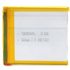 458090 3.7V 3600mAh Lithium Polymer Battery for Tablets / MP3 / MP4 / Cellphone + More - Silver