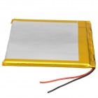 458090 3.7V 3600mAh Lithium Polymer Battery for Tablets/MP3 - Silver