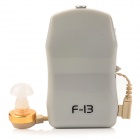 BET F-13 Sound Voice Amplifier Hearing Aid - Grey (1 x AA)