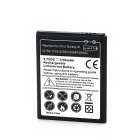 1700mAh 3.7V Replacement Battery for Samsung S5820 + Wi8150 - Black