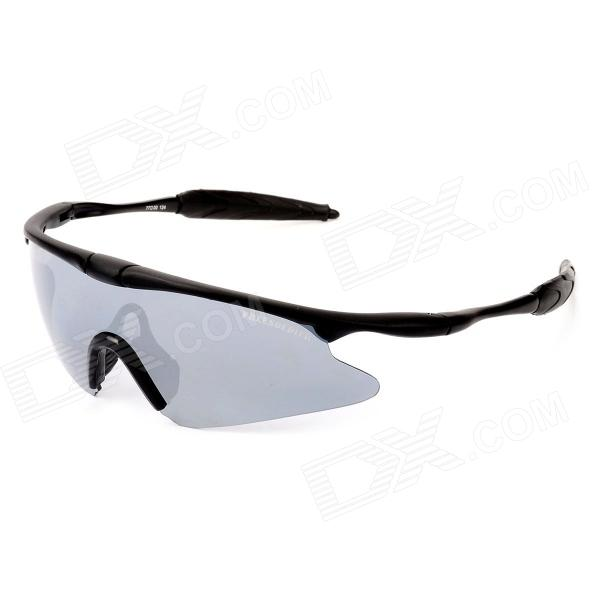 Free Soldier FS-YJ96 SWAT UV400 Protection Men's Sports Goggles Sunglasses - Black