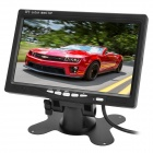 "Car Wireless 2.4GHz 7"" LCD Rearview Monitor + Waterproof CMOS Camera Kit - Black"