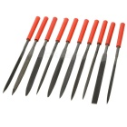 Multi-function Precision Needle Files - Black + Iron Grey (10 PCS)