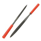 Multi-función Precision Needle Files - Negro + Rojo (10 PCS)