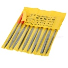 Multi-function Precision Needle Files - Black + Red (10 PCS)