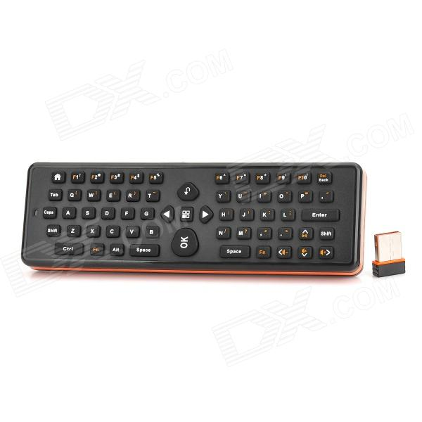2.4GHz Wireless 2-in-1 Air Mouse & Qwerty Keyboard - Black + Orange (2 x AAA) стоимость