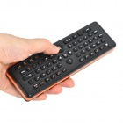2.4GHz Wireless 2-in-1 Air Mouse & Qwerty Keyboard - Black + Orange (2 x AAA)