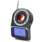 "CC309 1.6"" Screen Anti-Spy Laser Wireless Signal Detector - Black"