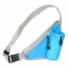 Convenient Utility Sports Waist Bag / Shoulder Bag w/ Buckle - Blue