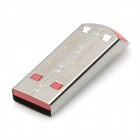Genuine SanDisk CZ71 Stainless Steel USB 2.0 Flash Drive - Prata + Vermelho (16GB)
