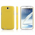 ENKAY Protective Plastic Back Case  for Samsung Galaxy Note 2 / N7100 - Yellow
