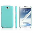 ENKAY Protective Plastic Back Case  for Samsung Galaxy Note 2 / N7100 - Cyan