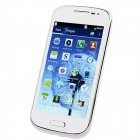 "I8160 Android 4.0.4 GSM Bar Phone w/ 4.0"" Capacitive Screen, Quad-Band and Wi-Fi - White"