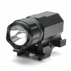 P05 Cree XP-G R5 150lm 2-Mode White Flashlight for 21mm Gun - Black (1 x CR2)