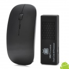 MK808 Android 4.1 Dual Core Google TV Player w / 1GB RAM / 8GB ROM / HDMI + 2.4GHz Air Mouse - Schwarz