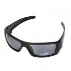 NBIKE BE02 UV400 Protection Cycling Polarized Resin Lens Sunglasses / Goggles for Men - Black