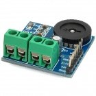 PAM8403 Dual Channel Mini Digital Audio Amplifier Board w / Volume Control - Preto + Verde + Azul