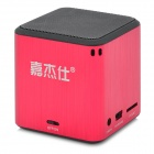 Stylish Mini Rechargeable 1.69W Speaker w/ TF Card Slot - Red