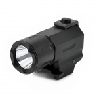 2-Mode White Light 160lm LED Flashlight w/ Cree XP-E for 20mm Rail Gun - Black (1 x CR2)