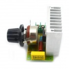 3800W SCR Electronic Voltage Regulator Dimmer Speed Control Thermostat