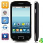 "X5292 Android 4.1.1 GSM Bar Phone w/ 3.5"" Capacitive Screen, Dual-Band and Wi-Fi - Black"