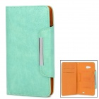 KALAIDENG Protective PU Leather Case for HUAWEI Ascend Mate 6.1 - Green