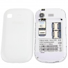 "X5292 Android 4.1.1 GSM Bar Phone w/ 3.5"" Capacitive Screen, Dual-Band and Wi-Fi - White"