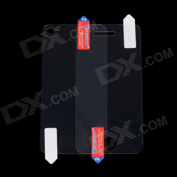 все цены на  NEWTOP Front + Back Anti-Explosion Screen Protectors Set for Iphone 4 / 4S  онлайн