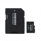 Samsung UHS-I Grade 1 Pro TF Card w/ TF to SD Card Adapter - Black + White (Class 10 / 64GB)