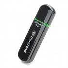 Genuine Transcend TS16GJF600 USB 2.0 Flash Drive - Black + Grey (16GB)