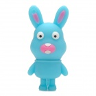 Cartoon Rabbit Style USB 2.0 Flash Drive - Blue + White + Pink (16 GB)