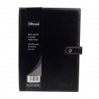High-quality Professional Artificial Leather Cover Ruled Notebook - Black