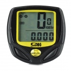 "SUNDING SD-548C1 1.5"" LCD Wireless Water resistant Digital Bike Speedometer Computer (1 x CR2032)"