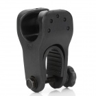 Universal Motorcycle Cigarette Lighter Flashlight Holder - Black