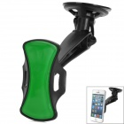 Multi-Functional GPS / Cell Phone Car Mount Stand Holder - Black + Green