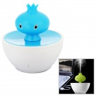 Cute Utility Mini Pomigranate Style Ultrasonic Plastic Humidifier - Blue + White
