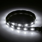 Waterproof 7.2W 540lm 6500K 18-SMD 5730 Cool White Car Strip
