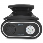 Car Bluetooth v3.0 Hands-Free Telephone System w/ Speaker / Microphone - Black