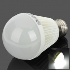 E27 7W 490lm 6500K 25-2835 SMT White LED Bulb Lamp (100~240V)