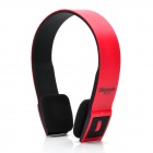 BH23 Bluetooth V3.0+ERD Handsfree Stereo Headset w/ Microphone - Red + Black
