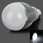 KD-QP-12W-01-ZBG E27 12W 600lm 6500K 12-LED White Light Bulb - Silver + White