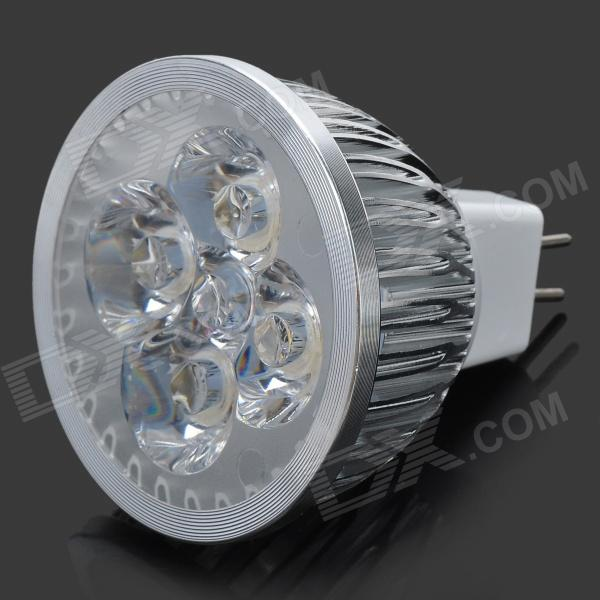 MR16 GX5.3 4W 320lm 3300K Warm White LED Spotlight (12~14V) gx n12ml c5 sensor mr li