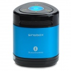 Singbox T6 Wireless Bluetooth V2.1 Speaker w/ Handsfree / Voice Prompt / TF / AUX - Black + Blue
