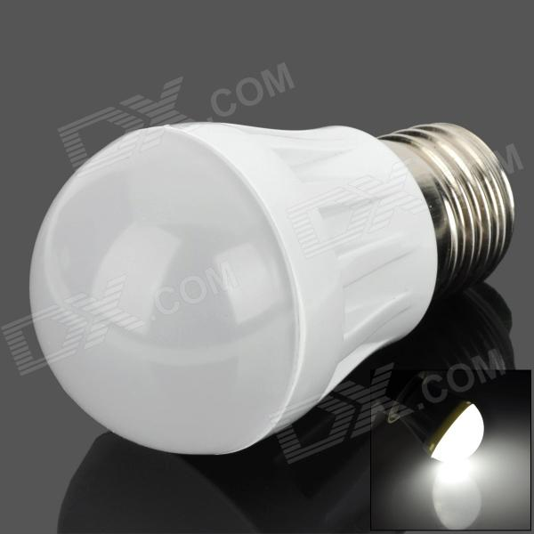 E27 3W 150lm 6500K 9-2835 SMD LED White Bulb Lamp (220V)