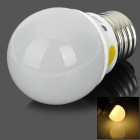 E27 1.5W 90lm 3500K 25-3014 SMD LED Warm White Energy-saving Bulb Lamp (220V)