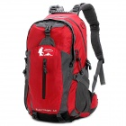 HIGHSEE HS-1840 Outdoor Sports Hiking Mountaineering Backpack - Red + Grey (40L)